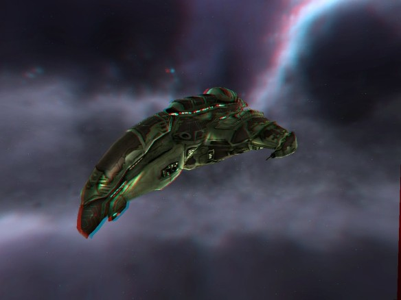 EVE Online 3D - Amarr Absolution - 3D View006