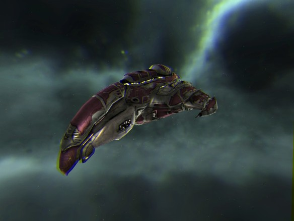 EVE Online 3D - Amarr Absolution - 3D View008